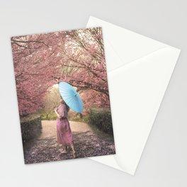Sakura Parade Stationery Cards