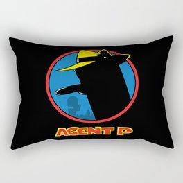 Agent P Rectangular Pillow