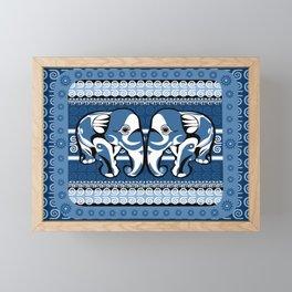 Indo Eleblu Framed Mini Art Print