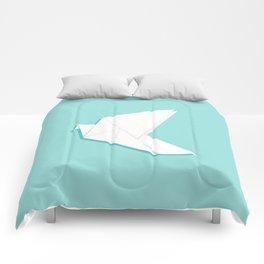 Origami pigeon Comforters