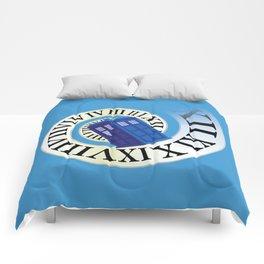 TARDIS in Time Comforters