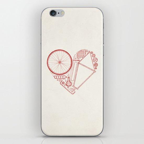 Love Bike iPhone & iPod Skin