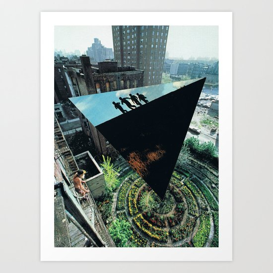 Density and  Expansion. Art Print