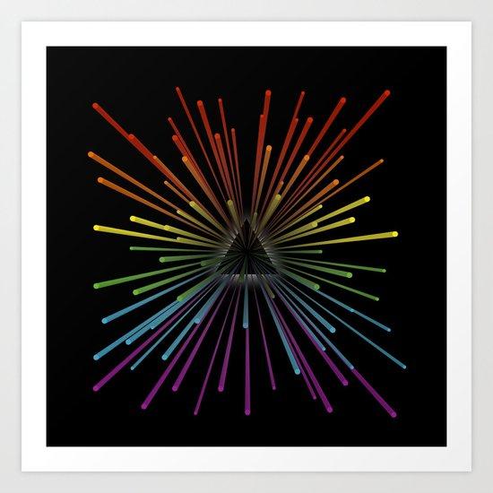 Any Colour You Like Art Print