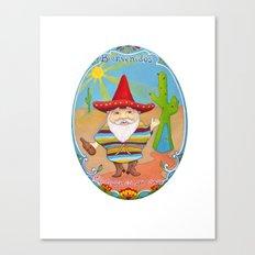 Mexican Gnome Canvas Print
