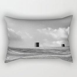 Echoes of Stonehenge during the Wiltshire Harvest Rectangular Pillow