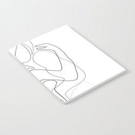 Lovers - Minimal Line Drawing Notebook
