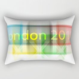 London - Go for Gold Rectangular Pillow