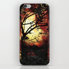 Enter the fertile garden of light and dispel the darkness of the night iPhone & iPod Skin