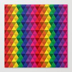 Color Me a Rainbow Canvas Print