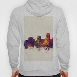 Durham England Skyline Cityscape Hoody