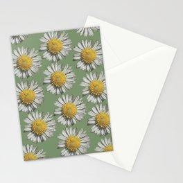 pastel daisy mania Stationery Cards