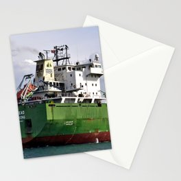 Redhead Freighter Stationery Cards