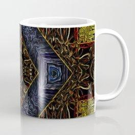 Geometrical Motif Stained Glass Coffee Mug