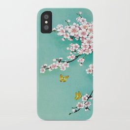 Dreamy cherry blossom iPhone Case