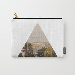 Hollywood Sign - Geometric Photography Carry-All Pouch