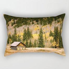 LITTLE CABIN IN THE WOODS Rectangular Pillow