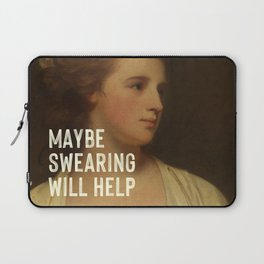 Maybe Swearing Will Help Laptop Sleeve