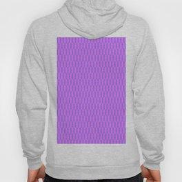Modern abstract  geometrical blush pink violet pattern Hoody