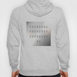 Metal Braille alphabet, tactile writing system used by blind or visually impaired people Hoody