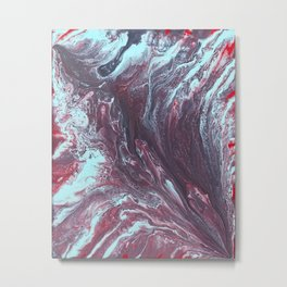 Fluid No. 01 Metal Print