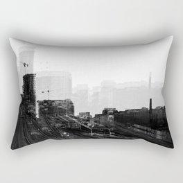 Tracks 3 Rectangular Pillow