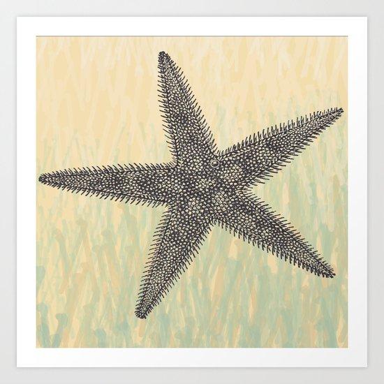 Starfish ~ The Summer Series Art Print
