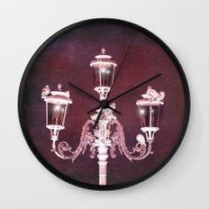 MARSALA NIGHTS Wall Clock