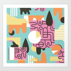 Amanaemonesia Art Print