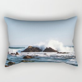 By The Seaside Rectangular Pillow