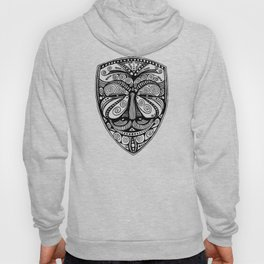 Guy Fawkes -- Anonymous -- Ornate Mask Hoody