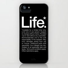 Life.* Available for a limited time only. Slim Case iPhone (5, 5s)