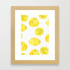 Lemon -ade Framed Art Print