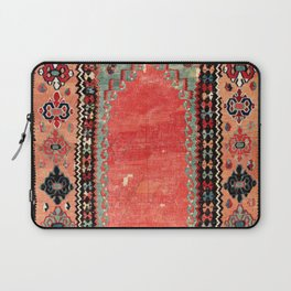 Sivas  Antique Cappadocian Turkish Niche Kilim Print Laptop Sleeve