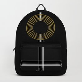 GUITAR IN ABSTRACT (geometric art deco) Backpack