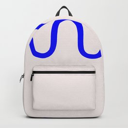 Abstract Shape Series - Squiggle Backpack