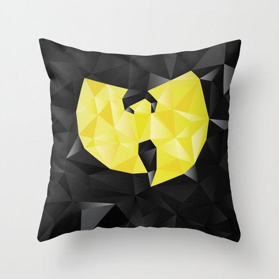 Wu-Tangle Throw Pillow