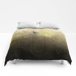 Golden Space Flight Comforters