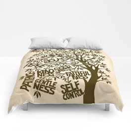 Fruit of the Spirit (Monotone) Comforters