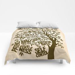 Fruit of the Spirit (Monotone) Comforters