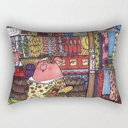 This Little Piggy Went To Market Rectangular Pillow