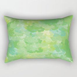 Color Splash: treetops Rectangular Pillow