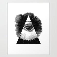 The Eye In The Sky Art Print