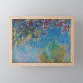 Wisteria by Claude Monet Framed Mini Art Print