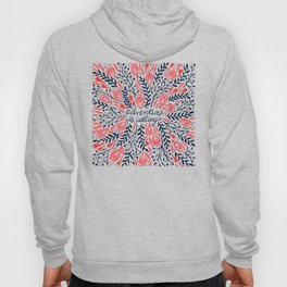 Adventure is Calling – Red & Black Palette Hoody