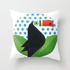 Tucan Throw Pillow