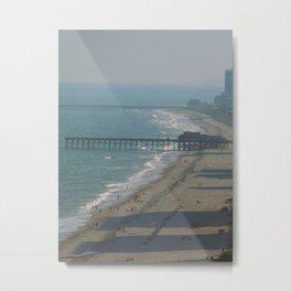 The Wooden Pier Metal Print