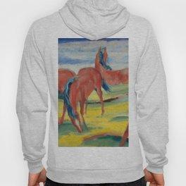 """Franz Marc """"Grazing Horses"""" (III) Hoody"""