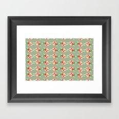 Fleur/ flowers Framed Art Print