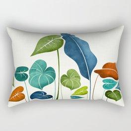 Around The World Rectangular Pillow